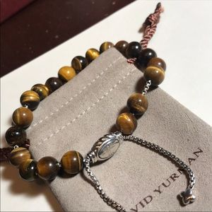 David Yurman Spiritual Beaded Tigereye Bracelet